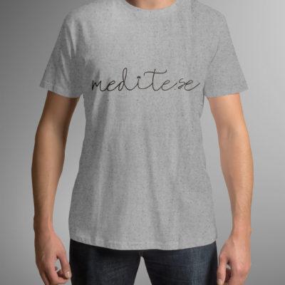 Camiseta Medite-se