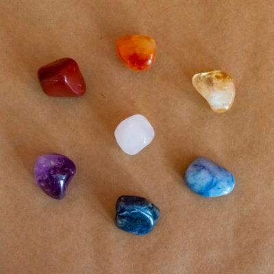 Pedras dos 7 Chakras