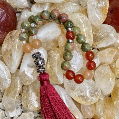 Japamala 27 contas – Espiritualidade e aceitação