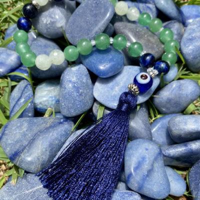 Japamala 27 contas –  Cura, serenidade e intuição